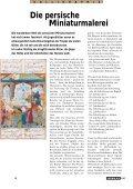 Die persische Miniaturmalerei - torba la revue du tapis - Page 4