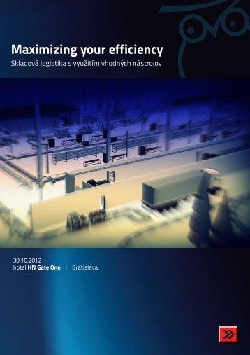 Maximizing your efficiency - SOVA Digital