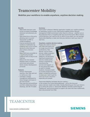 Teamcenter -- Matlab Integration fact sheet - SOVA Digital
