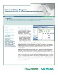 Teamcenter Change Management - SOVA Digital