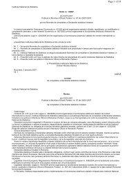 Ordin 1 din 2007 privind Normele de completare a Declaratiei ...