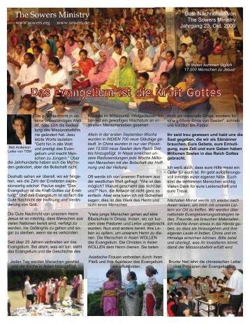 TSM Gute Nachrichten 10 2009.pdf - The Sowers Ministry ...