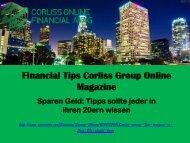 Sparen Geld: Tipps sollte jeder in ihren 20ern von wissen Financial Tips Corliss Group Online Magazine