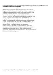 Übersicht Forschungsprojekte - Institut für Soziologie - Ruprecht ...