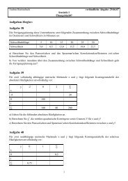 Aufgaben Ziegler: Aufgabe 38 Aufgabe 39 Aufgabe 40
