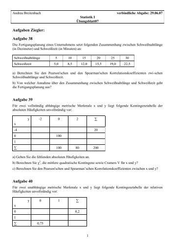 Aufgaben Mittelwert, Symmetrieebenen & Co - Soenkevoss.de