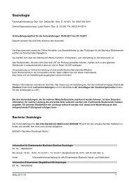 (KVV) Wintersemester 2011/12 - Institut für Soziologie