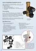 Boiler-Sicherheitsgruppe DN 20 Safety Group  DN 20 - Duco - Seite 2