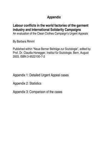 Appendix (pdf, 1.2 MB) - Institut für Soziologie