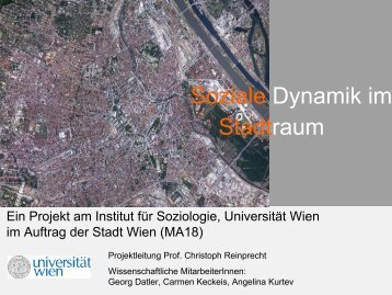 These 1 - Institut für Soziologie - Universität Wien