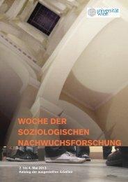 NW Katalog 2013.pdf, Seiten 1-19 - Institut für Soziologie ...