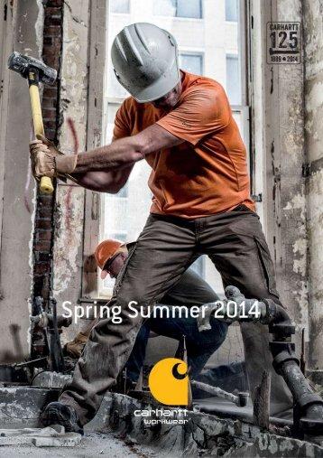 Carhartt Workwear Katalog 2014