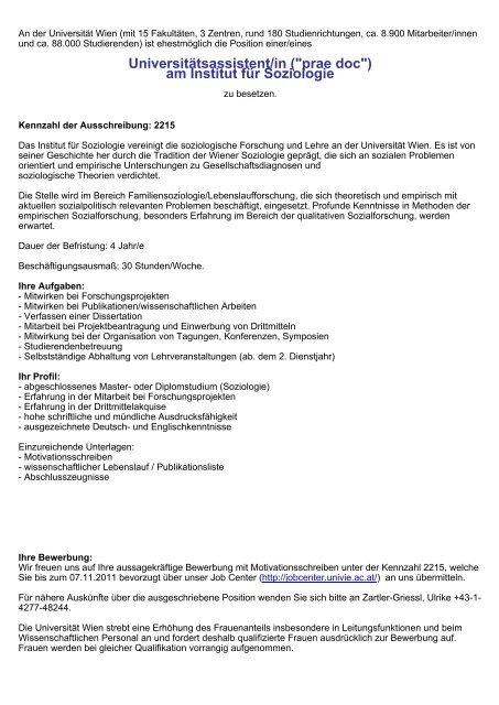 Uni Wien Alle Studiengange Der Universitat Wien 12