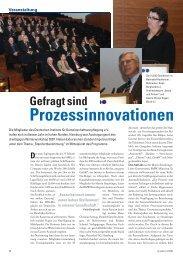 Gefragt sind Prozessinnovationen - Deutsches Institut für ...
