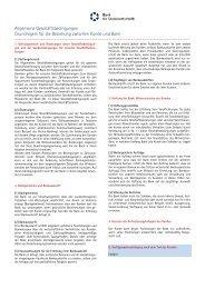Allgemeine Geschäftsbedingungen - Bank für Sozialwirtschaft