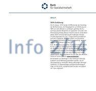 Aktuell SEPA-Einführung - Bank für Sozialwirtschaft
