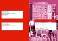 Flyer (PDF) - Soziale Arbeit - Berner Fachhochschule