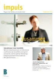 impuls - Soziale Arbeit - Berner Fachhochschule