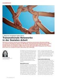 Transnationale Netzwerke in der Sozialen Arbeit - Soziale Arbeit