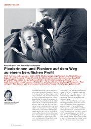 und Freiwilligen-Support: Fünf Jahre Pionierarbeit - Soziale Arbeit ...