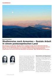 Studienreise nach armenien – Soziale arbeit in einem ...