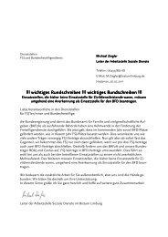2011-07 Einsatzstellenrundbrief - Fachstelle Freiwilligendienste im ...