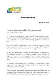 Pressemitteilung Hinweis Einsendeschluss (PDF) - Soziale Stadt ...