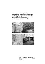 Integriertes Handlungskonzept - Soziale Stadt NRW