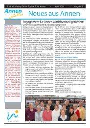 Neues aus Annen - Witten