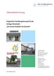 Integriertes Handlungskonzept für die Solinger ... - Stadt Solingen