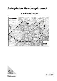 Integriertes Handlungskonzept Oberhausen Lirich - Soziale Stadt ...