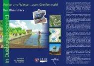 RheinPark - Soziale Stadt NRW