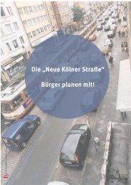 Die neue Kölner Str. - Bürger planen mit - Soziale Stadt NRW