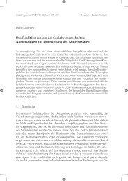 David Kaldewey - Soziale Systeme