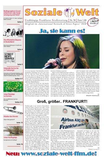 www.soziale-welt-ffm.de! www.soziale-welt-ffm.de!