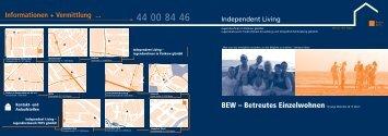 Informationen + Vermittlung ... - Soziales im Netz