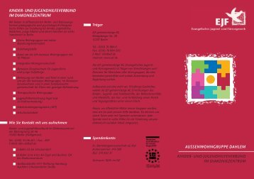 flyer_awg_6:DZI Flyer-Wohngruppe A1 - Soziales im Netz