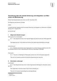Verordnung über die soziale Sicherung und Integration von Men ...