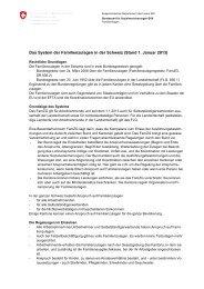 Das System der Familienzulagen in der Schweiz - Bundesamt für ...