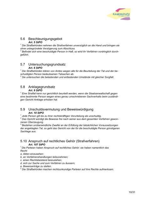 Juristische Grundlagen «Kindesschutz - Amt für Soziales - Kanton St ...