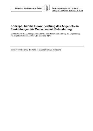 257 kB, PDF - Amt für Soziales - Kanton St.Gallen