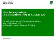 Folien Informationsveranstaltung vom 14. Dezember 2012 - Amt für ...