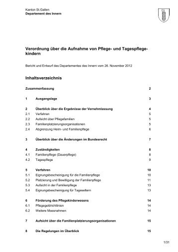 Bericht und Entwurf PKV vom 26. November 2012 (315 kB, PDF)
