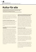 kultur gleichstellung von menschen mit behinderungen - Page 6