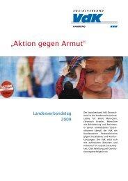 """""""Aktion gegen Armut"""" - Verlag Volker Herrmann Soziales Marketing"""