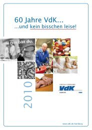 60 Jahre VdK... - Verlag Volker Herrmann Soziales Marketing