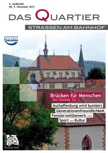 Das Quartier (Ausgabe Nr. 9 / November 2013) - Sozialen Stadt ...