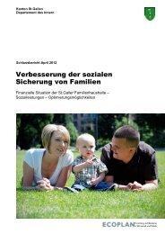 Ecoplan (2012) Publikation (1032 kB, PDF) - Amt für Soziales ...
