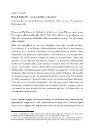 1 Andreas Pangritz: Dietrich Bonhoeffer – wissenschaftlich ...