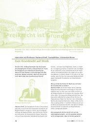 Zum Grundrecht auf Streik - Universität Bonn